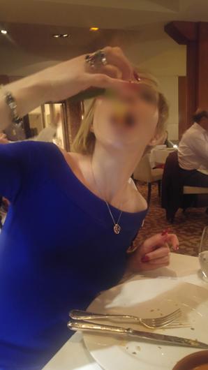 Cena Nina Escort en Madrid