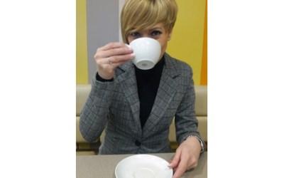 Tomando un té