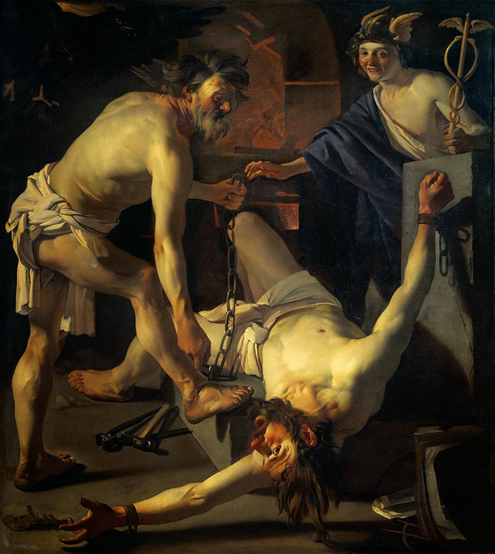 ritmo-Vulcano encadenando a Prometeo-Dirk Van Bauren