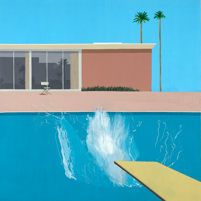 David Hockney-a bigger splash