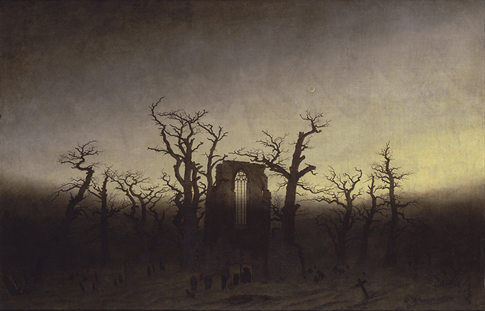 Friedrich_the abbey in the oakwood_1810