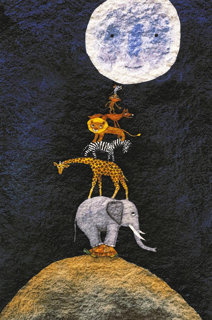 a que sabe la luna-kalandraka-michael grejniec-estrellas