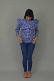 Nina Lee Bloomsbury Blouse gingham