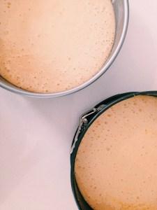 Tiramisutaart met koffieboontjes