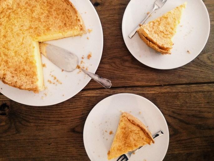 Torta al limone, citroentaart