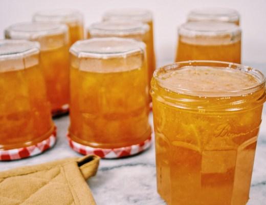 Sinaasappel-cognacmarmelade