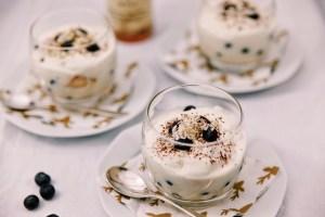 Witte chocoladetrifle