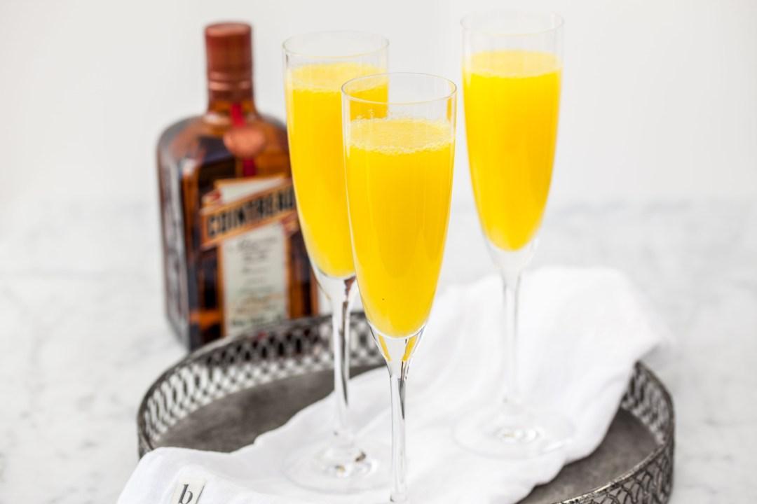 Mimosa met verse jus d'orange & cointreau