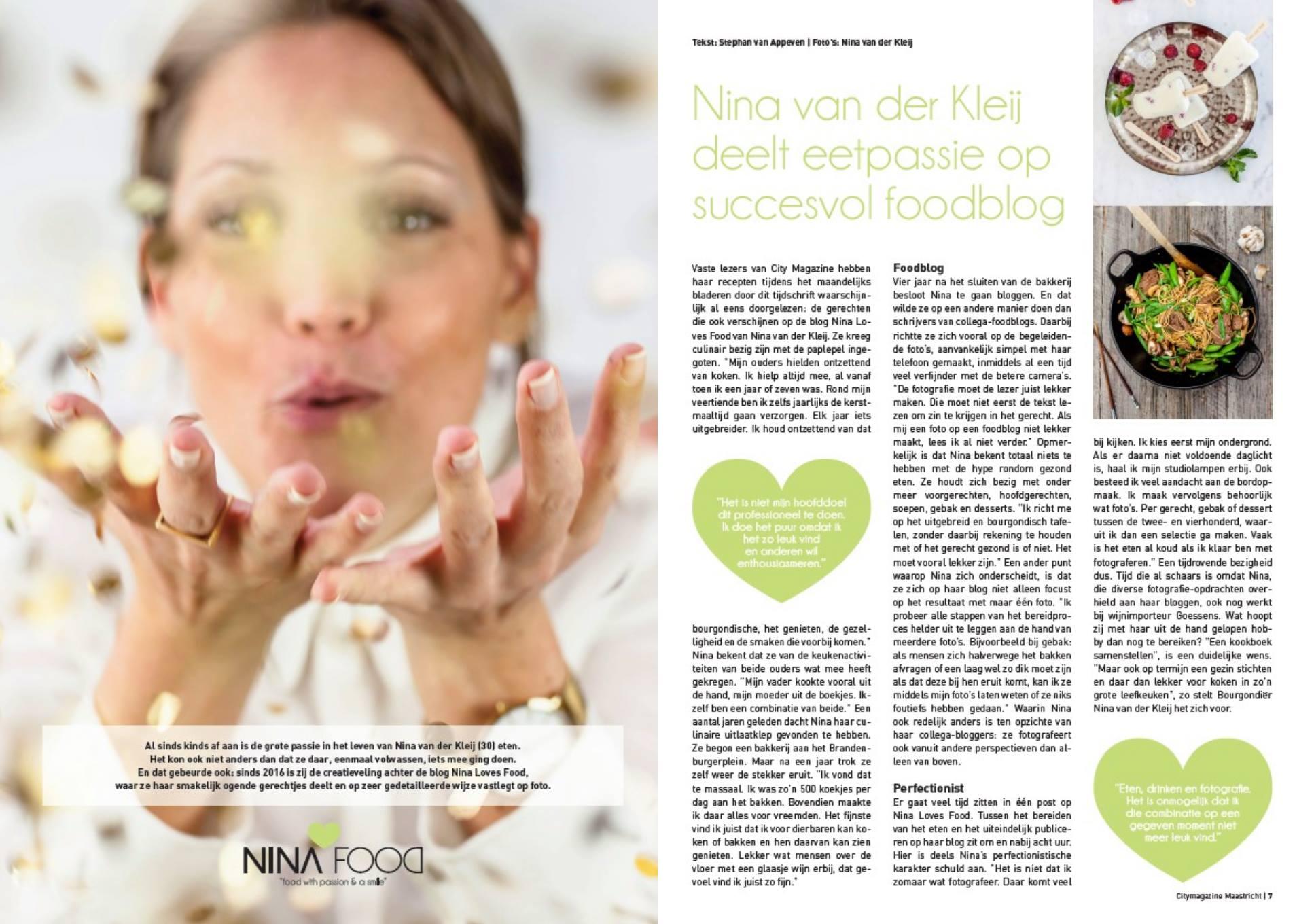 City Magazine Maastricht   NINALOVESFOOD