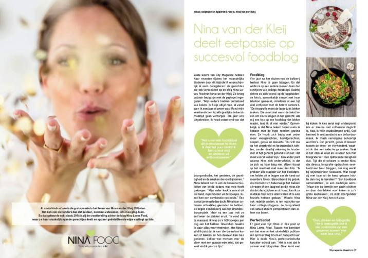City Magazine Maastricht | NINALOVESFOOD