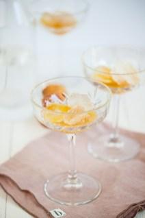 Abrikozensirroop met citroen & saffraan