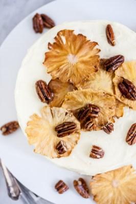 Hummingbirdtaart met karamel-pecannoten