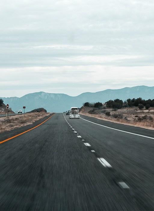 Nina Marquardsen Fotografi - Vejen mod Death Valley