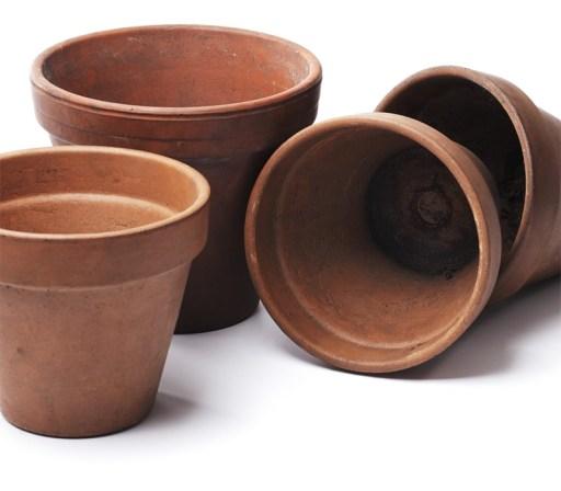 Terracotta urtepotte i ler