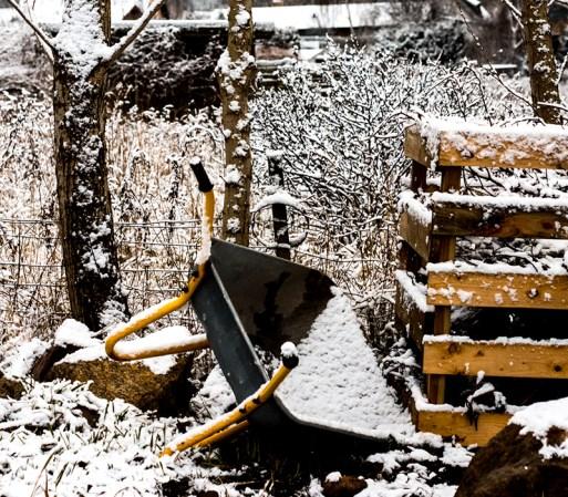 Snevejr & vinter på matriklen