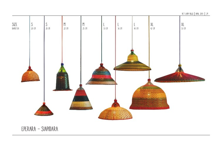 Lamps from the Eperara - Siapidara collection