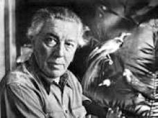 Lo scrittore André Breton