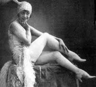 La ballerina e cantante Mistinguett