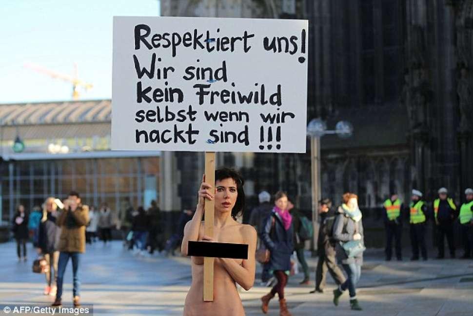 Colonia: rispettateci! Non siamo prede nemmeno nude