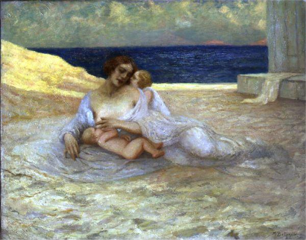 Mario Bettinelli Maternità 1921 (Fondazione Cariplo)