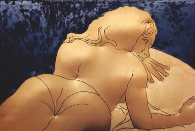 Cesare Tacchi: Gold woman, 1965