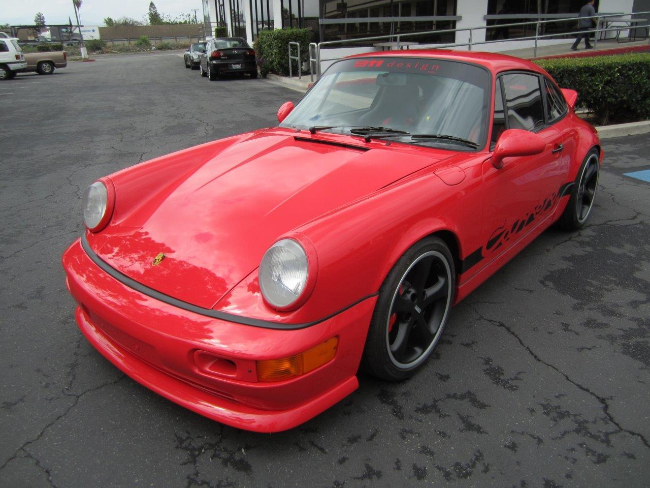 1989 Porsche 964 Carrera Overhaul 911 Design Porsche