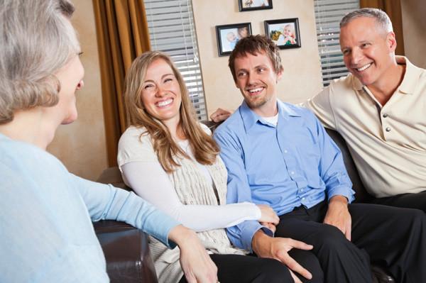 Meeting the boyfriends parents