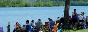 Relax by the water at Nine Lakes Wine Festival