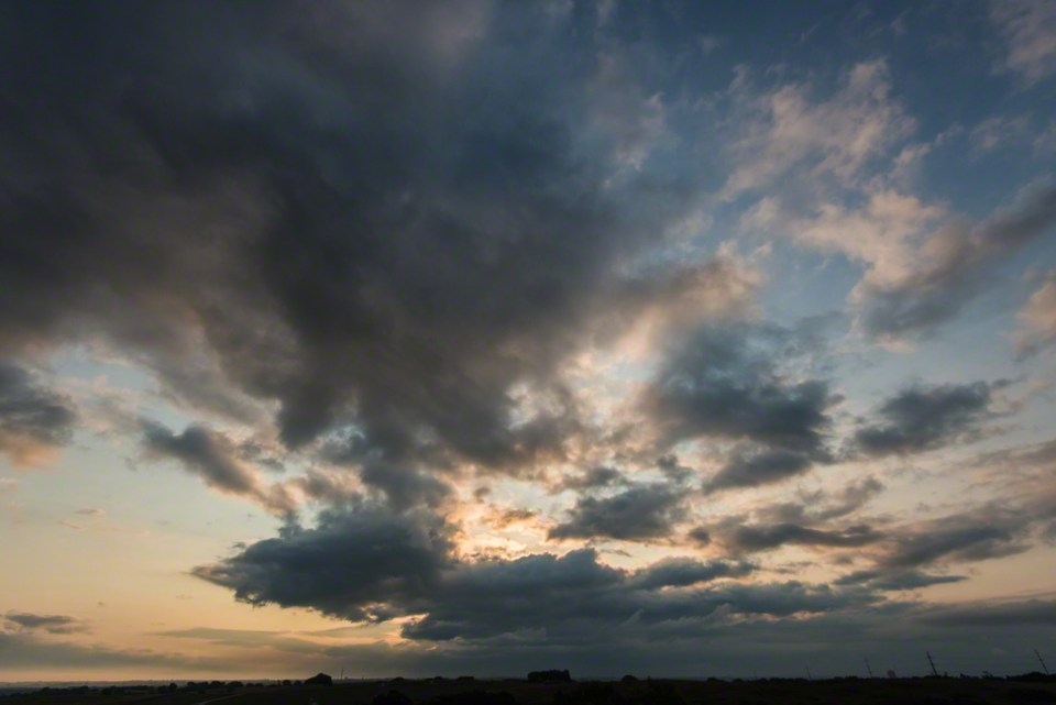 Dawn Storm Moving Through