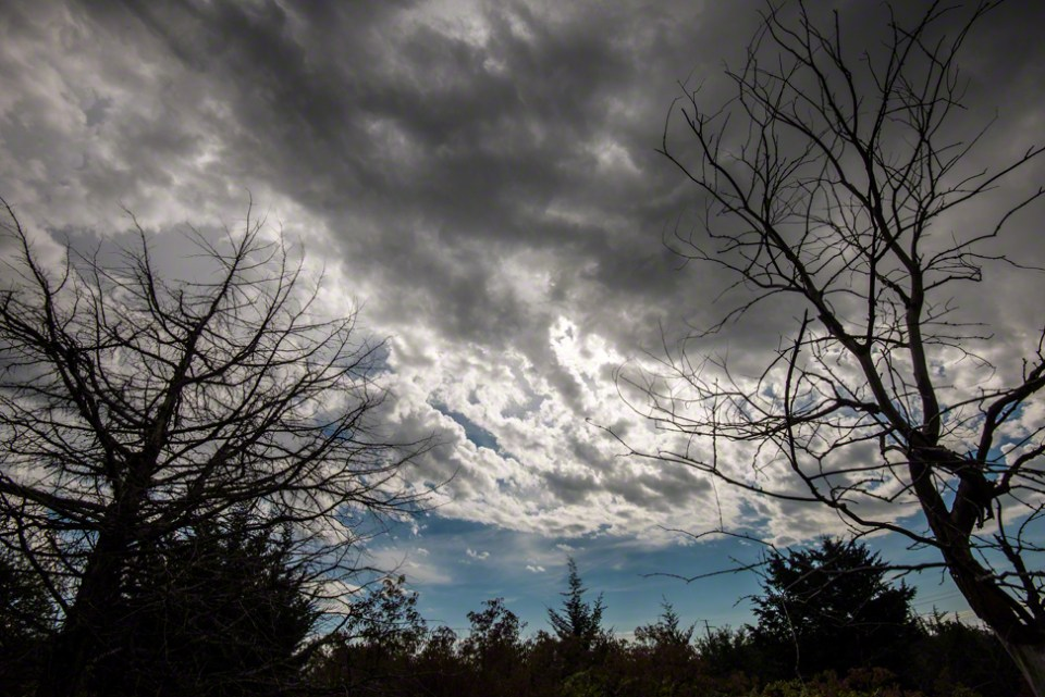 Fall Storm Clouds Gathering