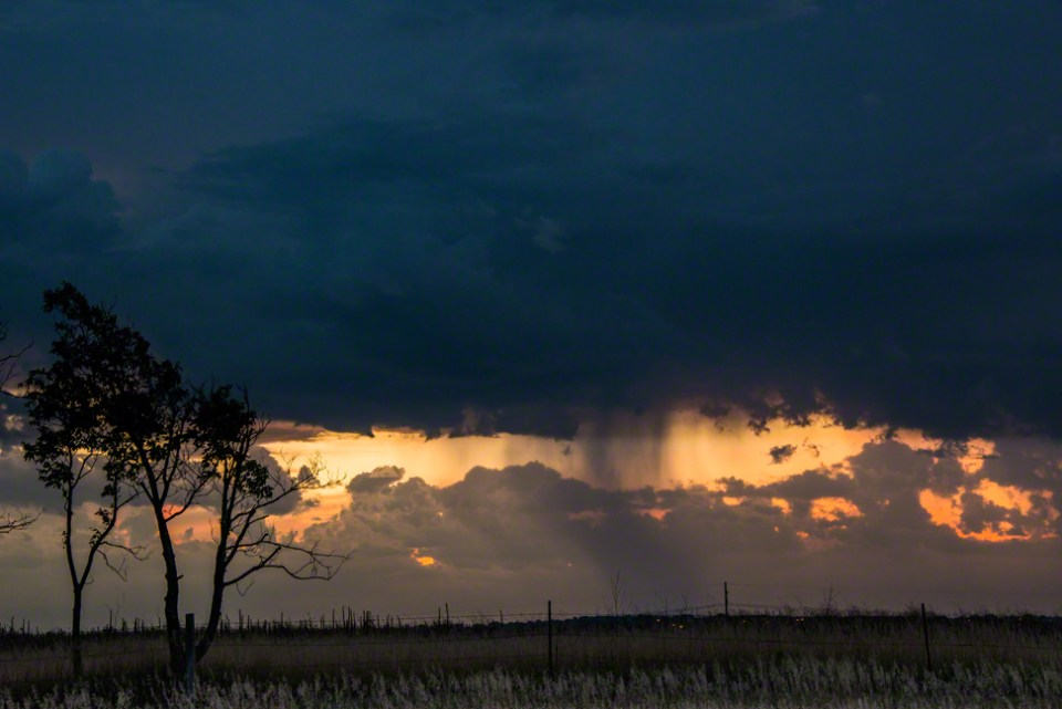 Storm Cell over North Lincoln