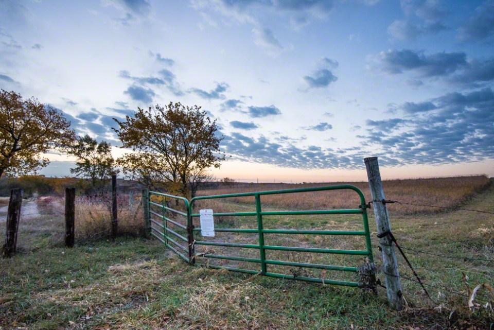 The West Gate in Pre-dawn Light