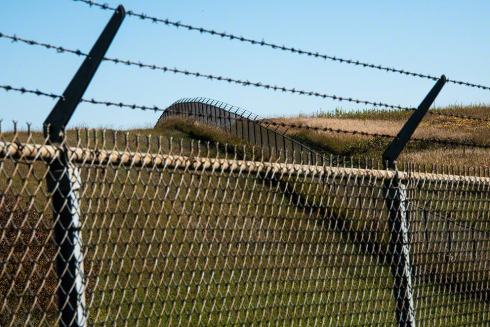 Where the Big Fence Turns
