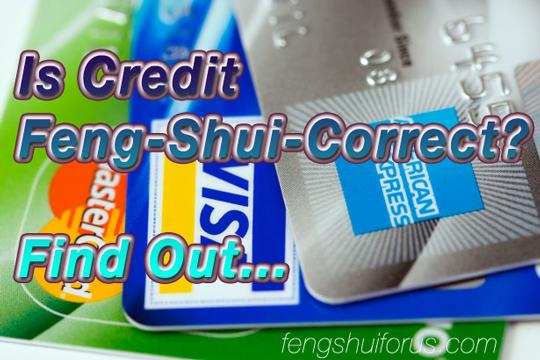 is-credit-feng-shui-correct