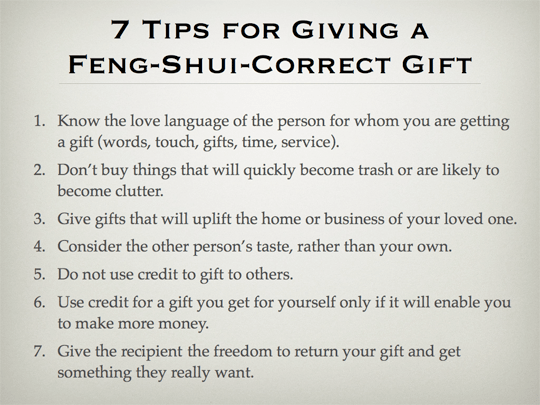 7 tips for giving a feng shui correct gift nine steps to feng shui 7 tips feng shui correct gifts002 solutioingenieria Choice Image