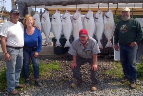 A Good Halibut Catch