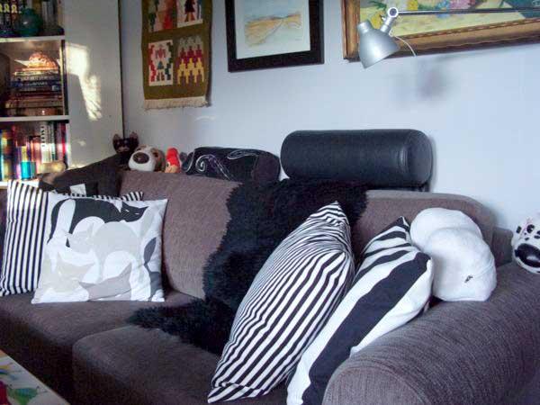 soffa, sofa, mio