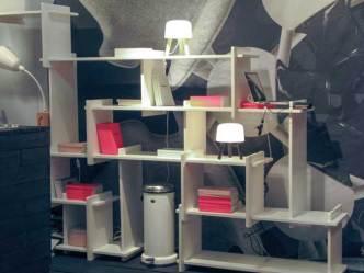 Airy shelves