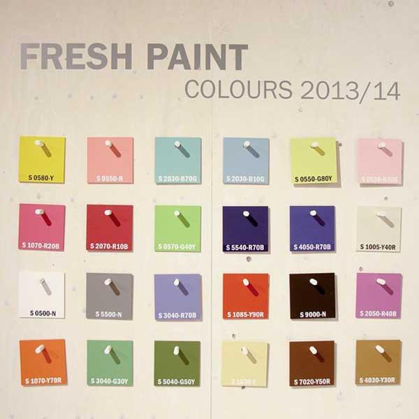 colors, colours