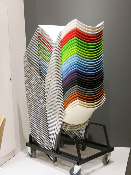 Pile pf chairs