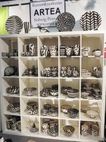 Black and white ceramics