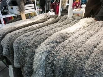 Beautiful and soft sheeps skins