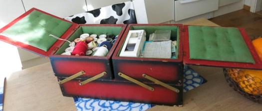 sewing kit, syskrin