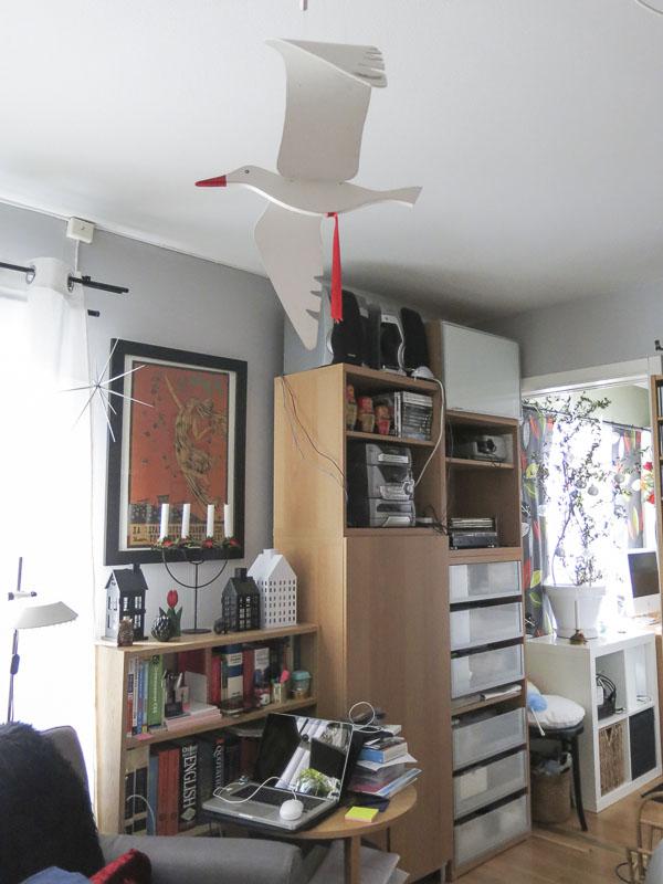 seagull, livingroom