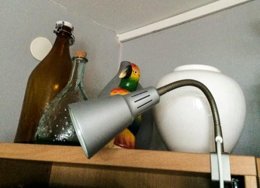 lamp, clamp spot-light