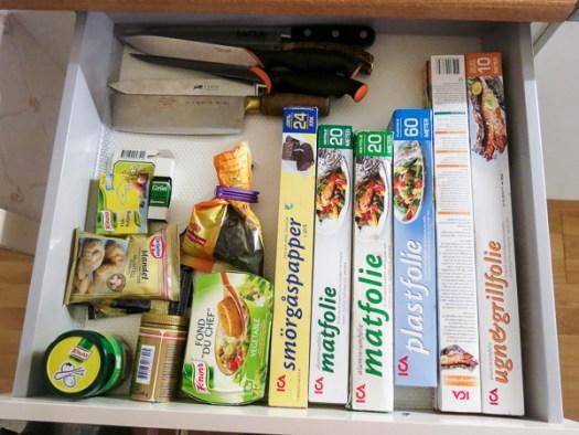 kitchen, drawer