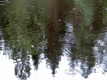 Rain on the Big Dam