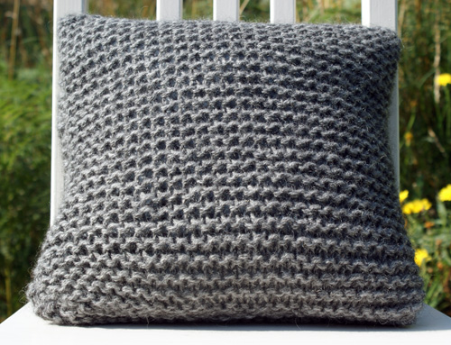 pillow, pillowcase, knitted
