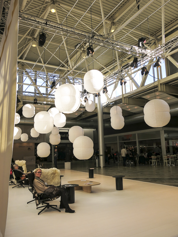 The entrance hall at the Stockholm Furniture and Light Fair 2016. Photo: ©nini.tjader.2016