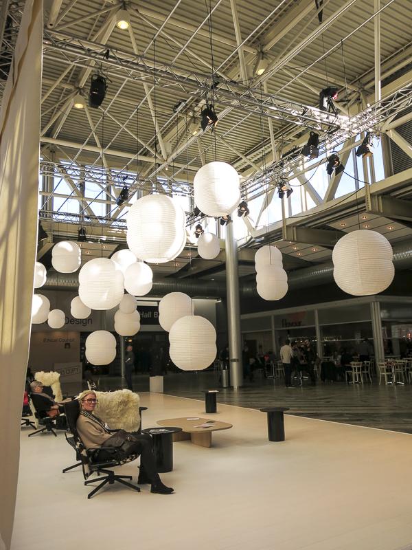 The entrance hall at the Stockholm Furniture and Light Fair 2016. Photo: ©nini.tjader.2016